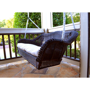 Tortuga Portside Porch Swing, Dark Roast