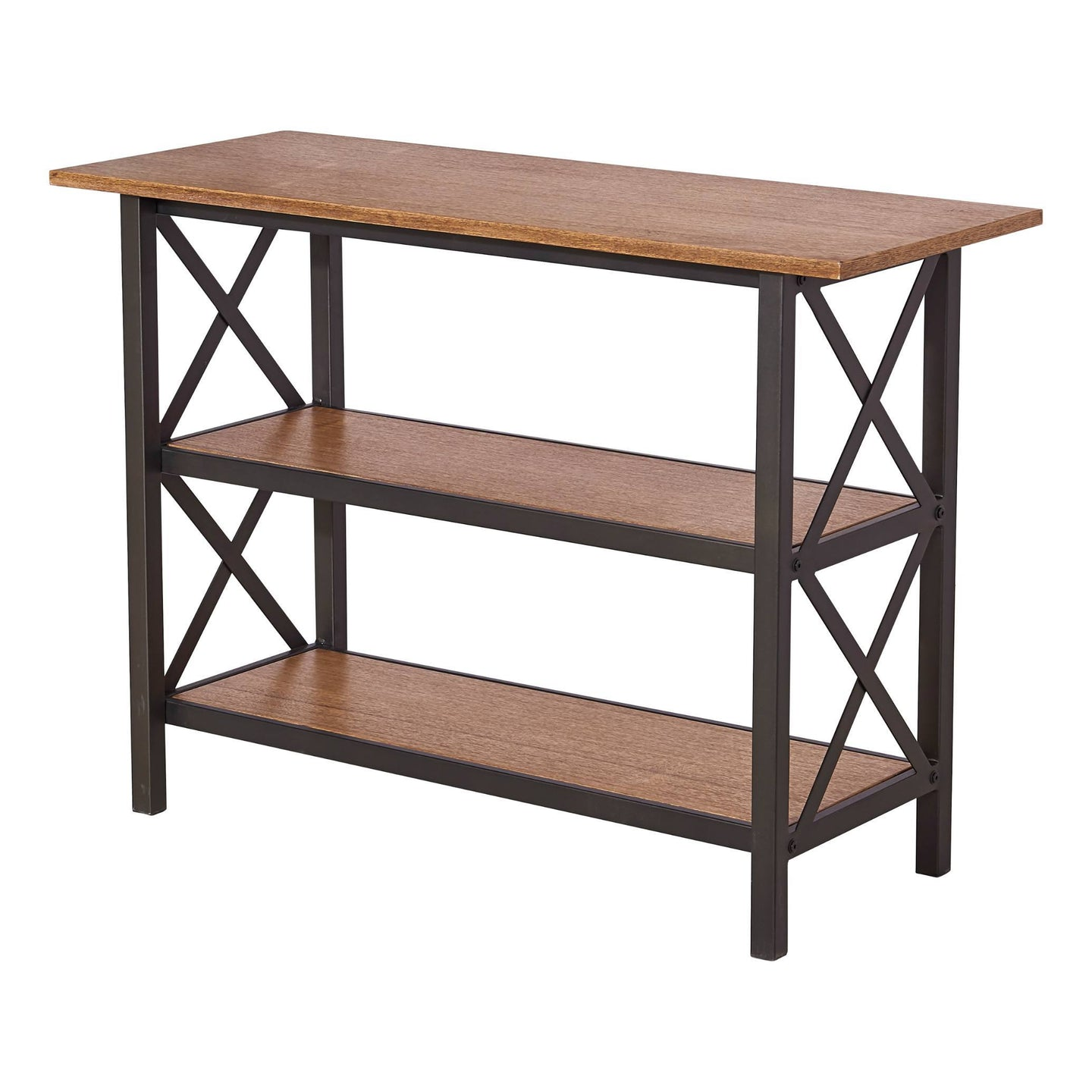 Hamburg Contemporary Laredo  Three Level Table Brown