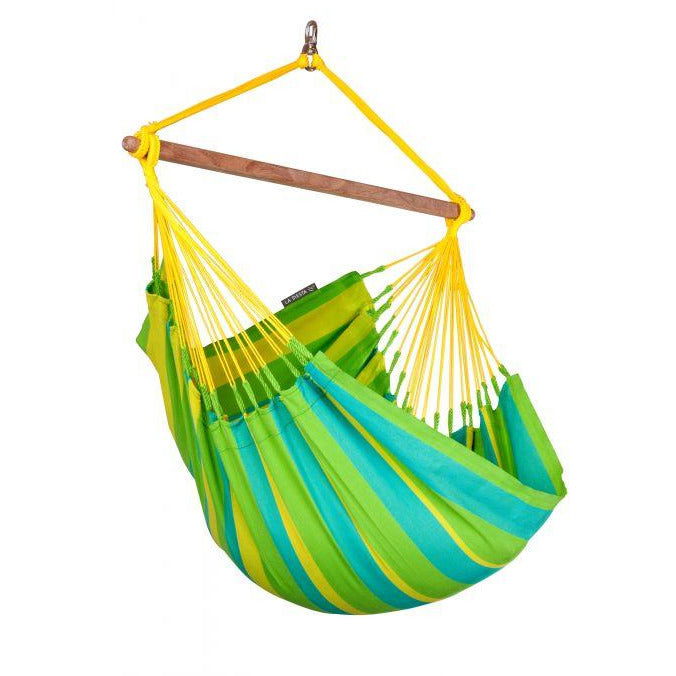 Sonrisa Weather-Resistant Basic Hammock Chair by La Siesta - Lime
