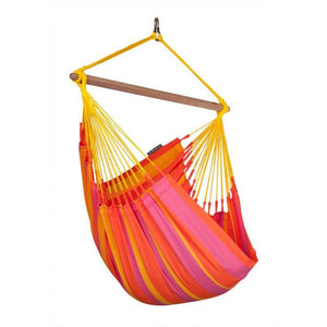 Sonrisa Weather-Resistant Basic Hammock Chair by La Siesta - Mandarine