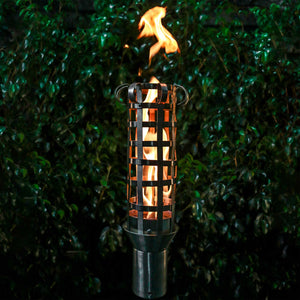 Box Weave Fire Torch - 01