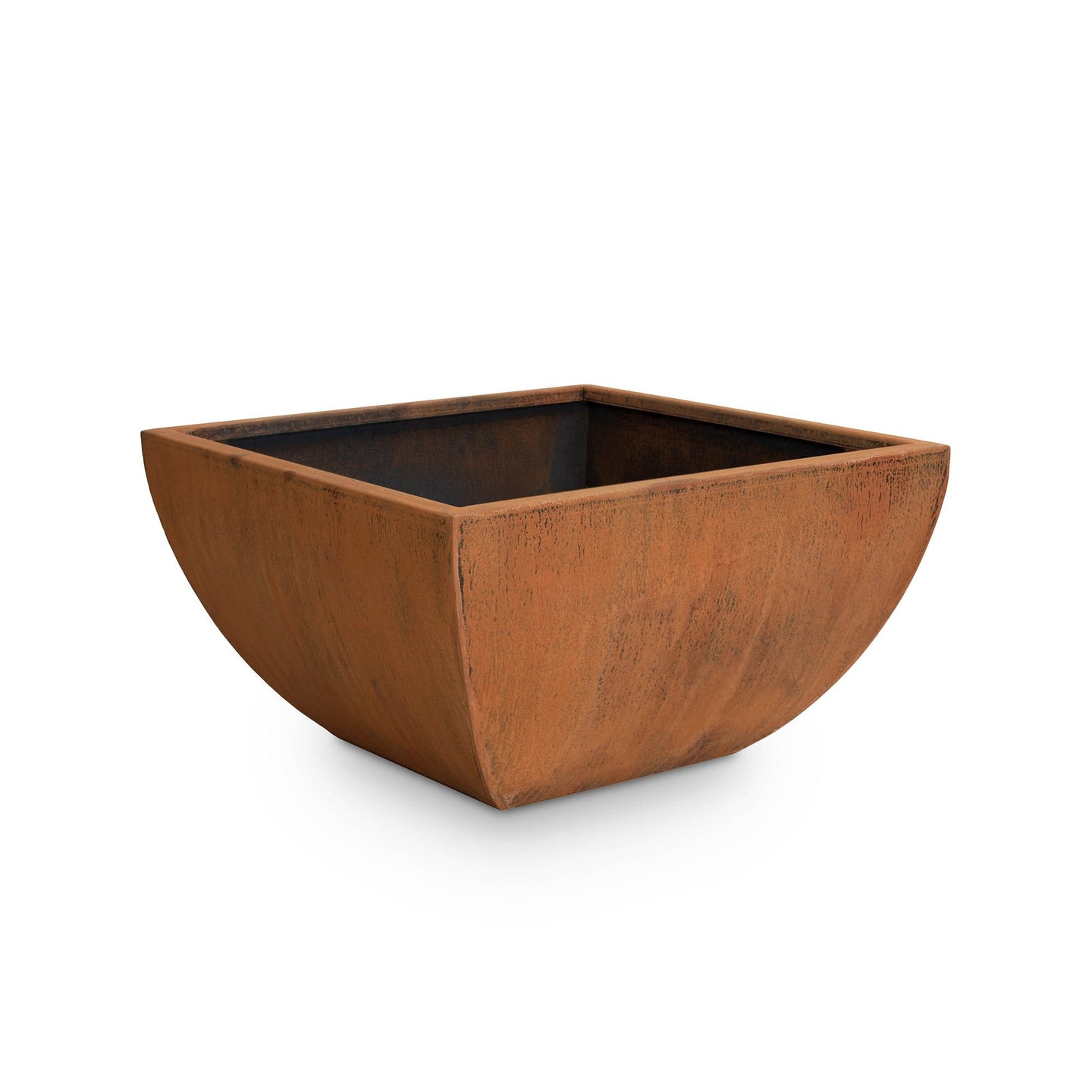 Tuscon Square Corten Steel Planter