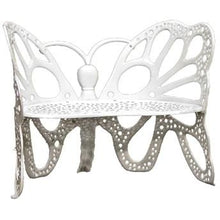FlowerHouse Butterfly Aluminum 46 inch Outdoor Garden Bench - Swing Chairs Direct