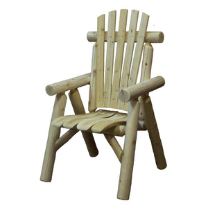 Lakeland Mills Cedar Log Dining Chair