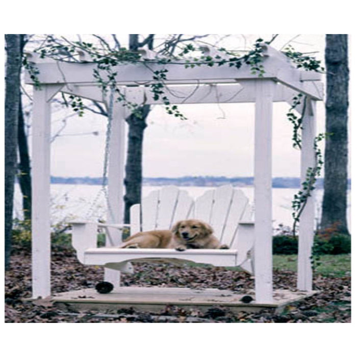 Uwharrie Porch Swing, Fanback Collection - 4 Foot