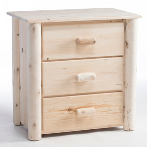 Lakeland Mills Frontier 3 Drawer Chest/Unfinished