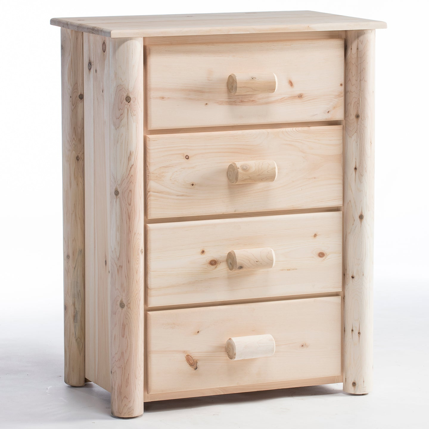 Lakeland Mill Frontier 4 Drawer Chest/Choice of Finish