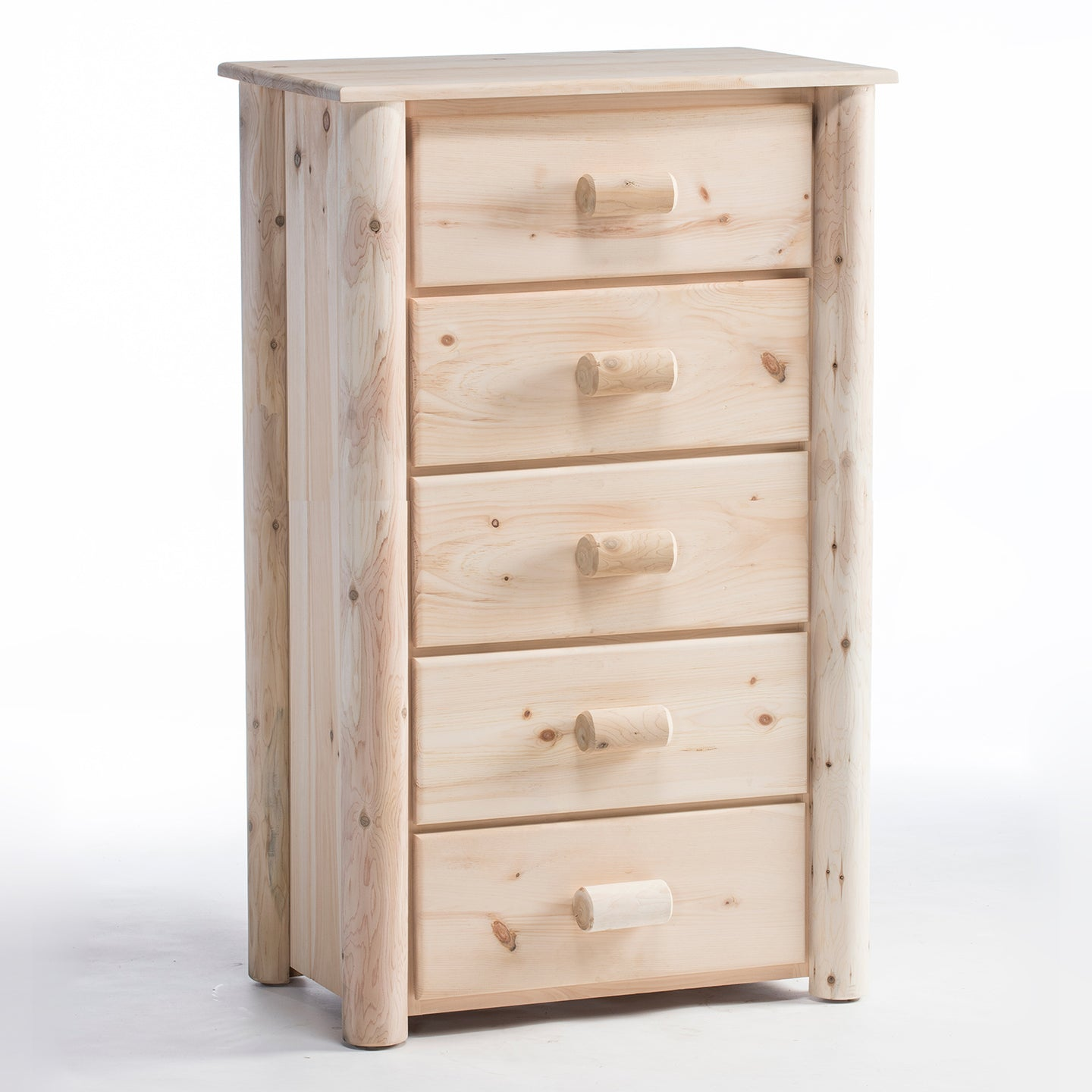 Lakeland Mills Frontier 5 Drawer Chest/Choice of Finish