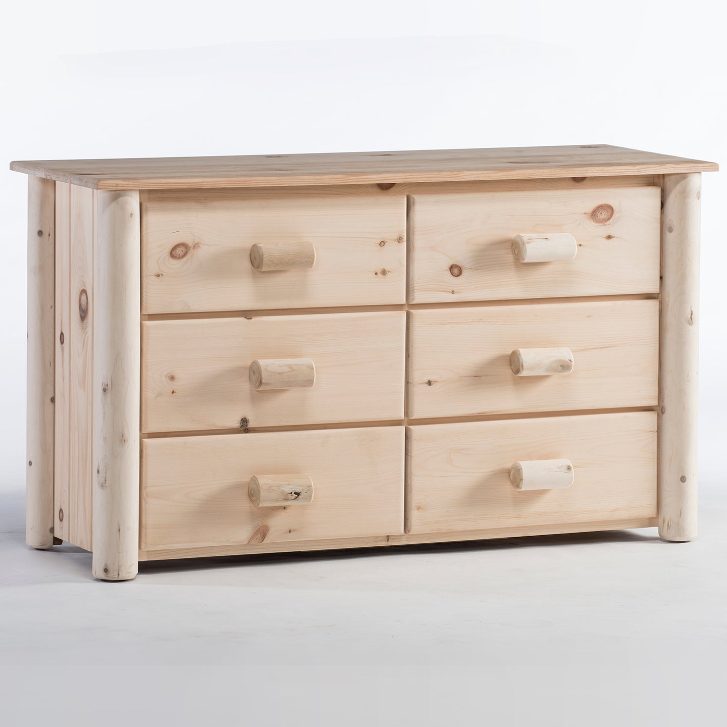 Lakeland Mills Frontier 6 Drawer Dresser/Choice of Finish