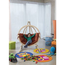 Byers of Maine Kid's Globo Floor Chair with Stand - Swing Chairs Direct