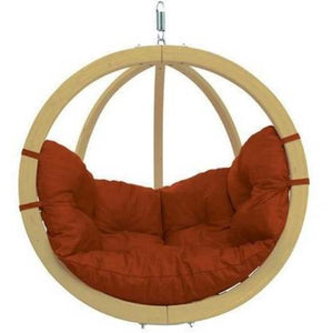 Byers of Maine, Single Globo Swing Chair with Cushion - Swing Chairs Direct