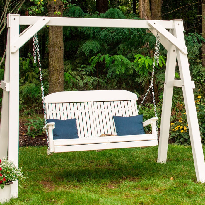 LuxCraft Classic Porch Swing, 4 feet - Swing Chairs Direct