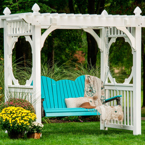 LuxCraft Adirondack Swing, 5 feet - Swing Chairs Direct