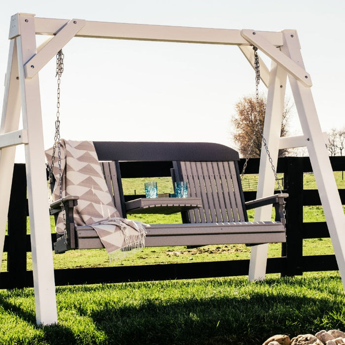 LuxCraft Classic Porch Swing, 5 feet - Swing Chairs Direct