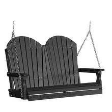 LuxCraft Adirondack Swing, 4 feet - Swing Chairs Direct