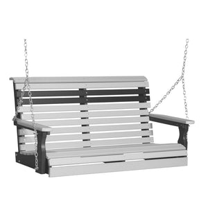 LuxCraft Plain Swing, 4 Feet - Swing Chairs Direct