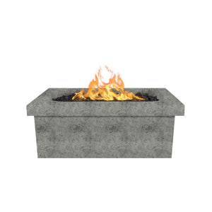 Ramona Rectangular Fire Pit Table - 16