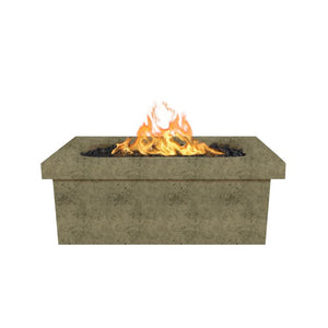 Ramona Rectangular Fire Pit Table - 17