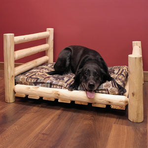 Lakeland Mills Cedar Log Small Pet Bed