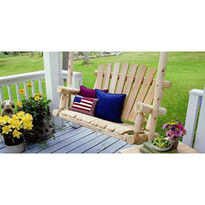 Lakeland Mills Hanging Porch Swing - 5 Foot - Swing Chairs Direct