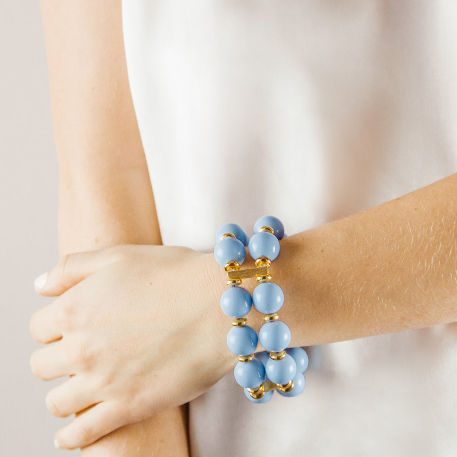 SAVANNAH CUFF IN LIGHT BLUE