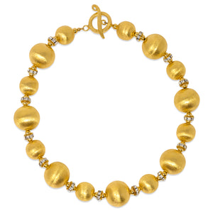 SIMONE PETITE NECKLACE IN GOLD