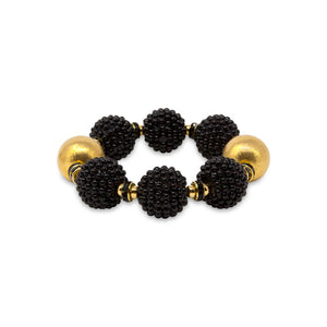 VIVIENNE BRACELET IN BLACK RASPBERRY