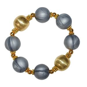 BIANCA STATEMENT BRACELET IN GRAY AND GOLD