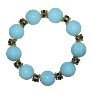 ANYTIME BANGLE IN LIGHT BLUE