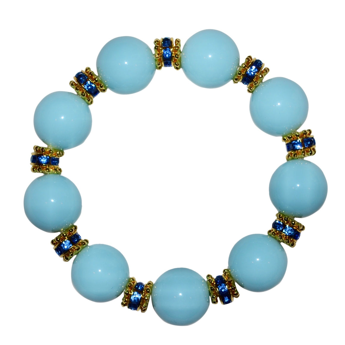 ELLIS ANYTIME BANGLE IN LIGHT BLUE