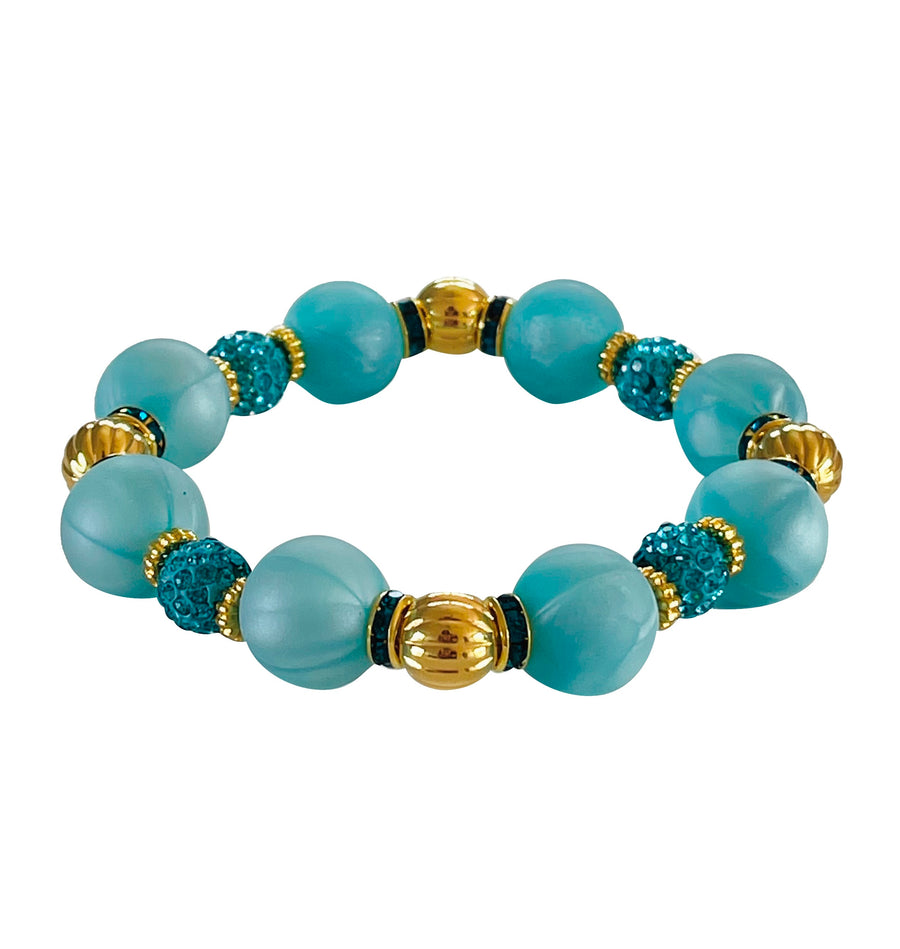 SUMMER BANGLE IN TURQUOISE