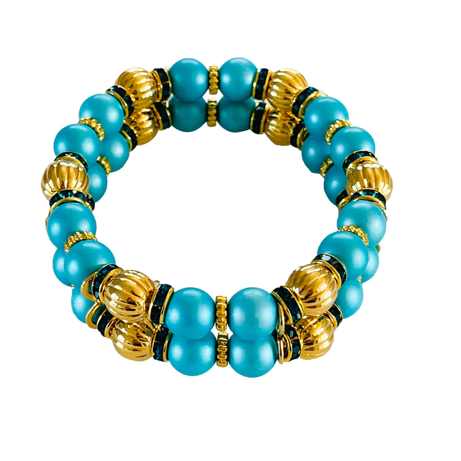 SUMMER MINI CUFF IN TURQUOISE