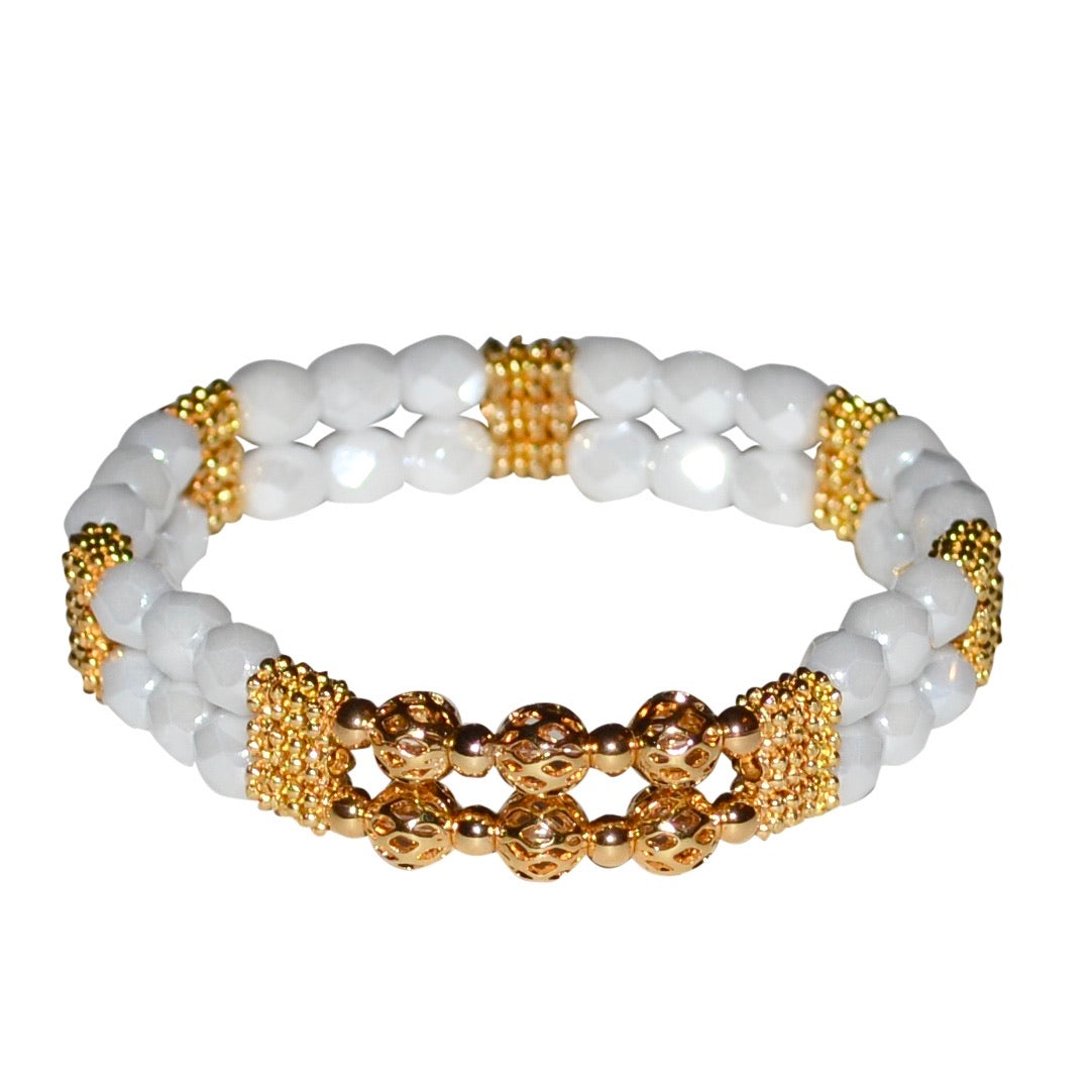 BIANCA BRACELET IN WHITE