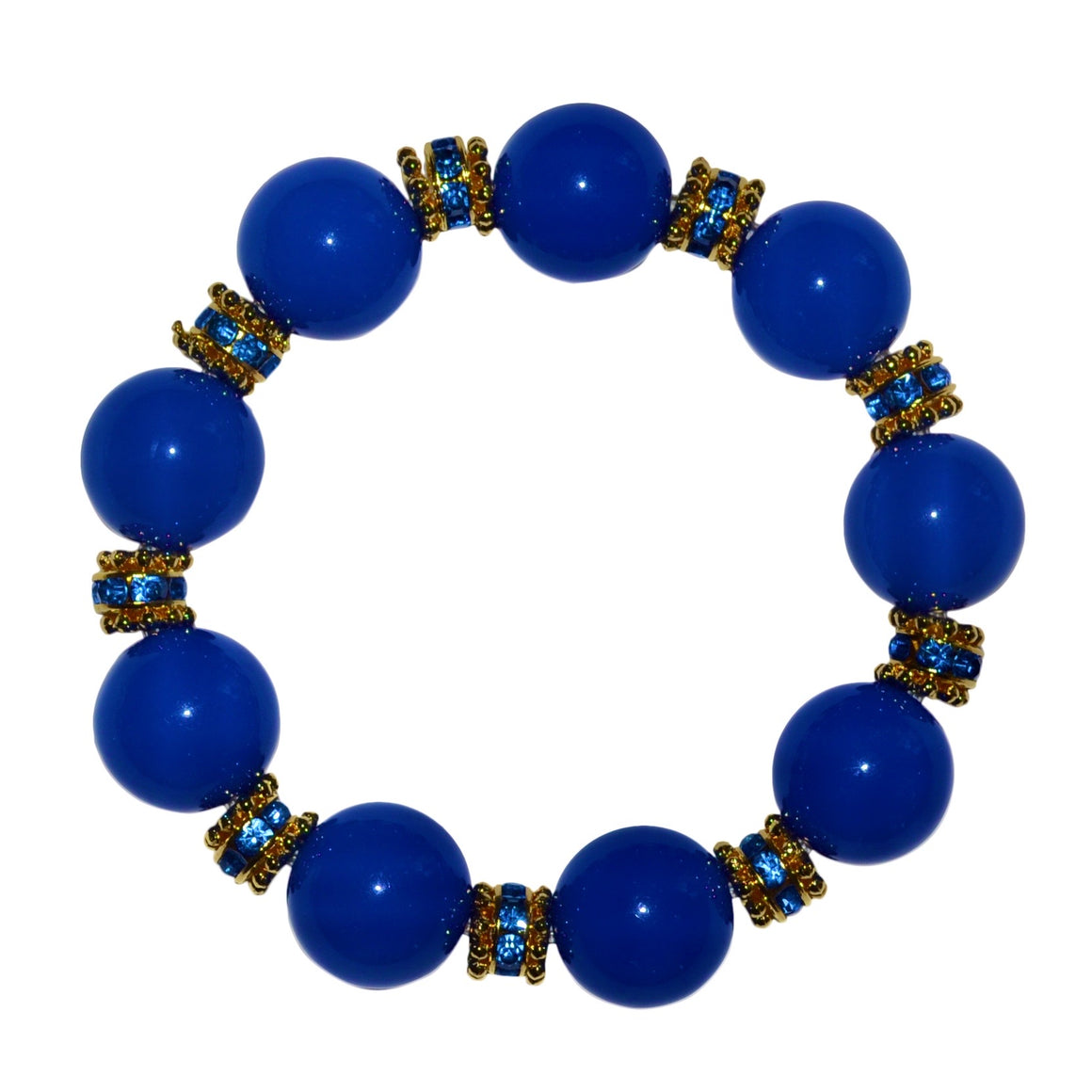 ANYTIME BANGLE IN COBALT