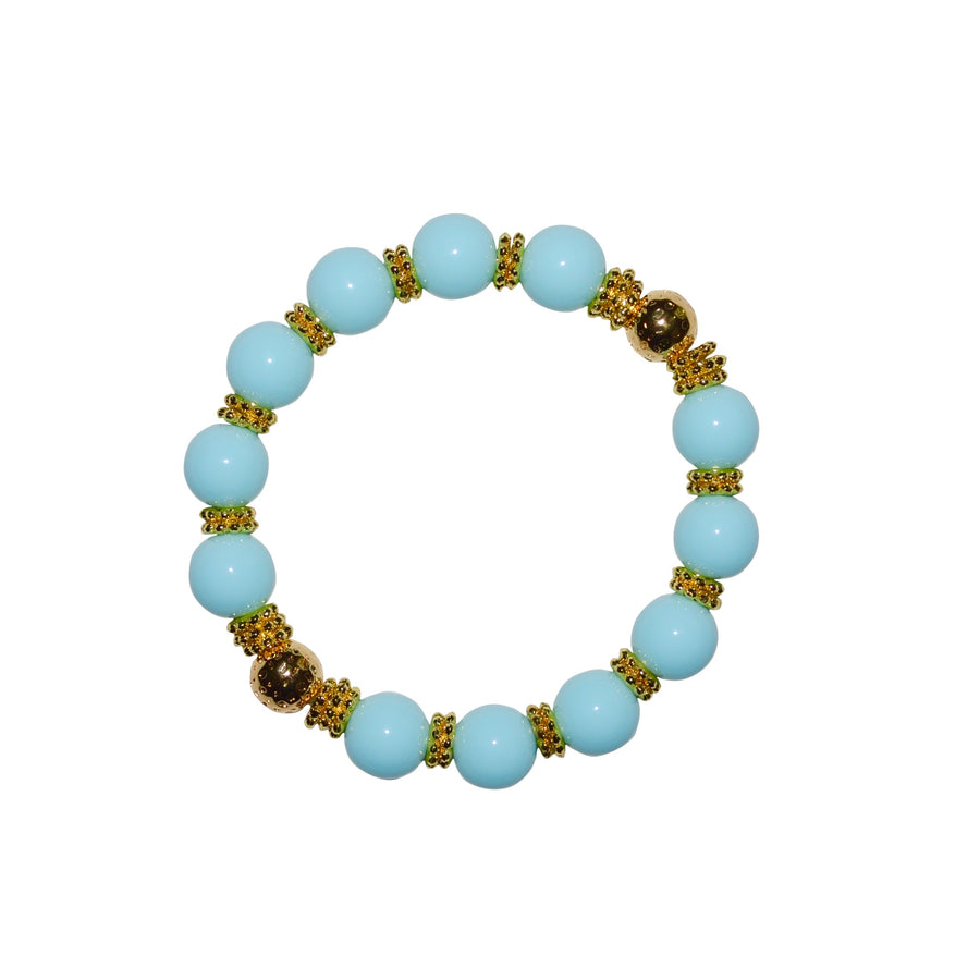 TATE HUDSON BANGLE IN LIGHT BLUE