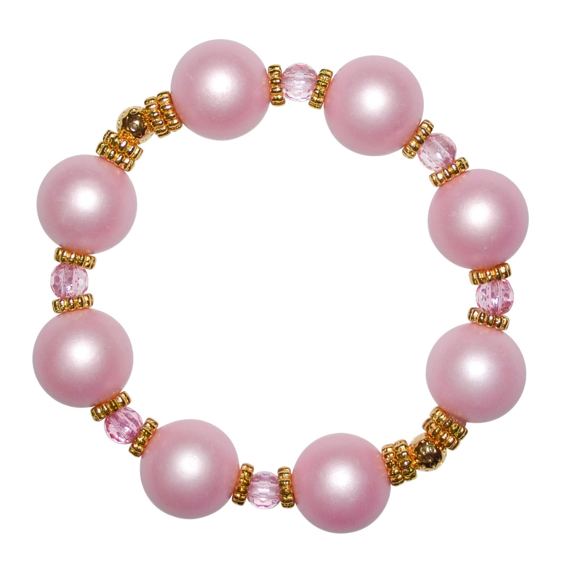 VIVIENNE BANGLE IN PINK MATTE PEARL