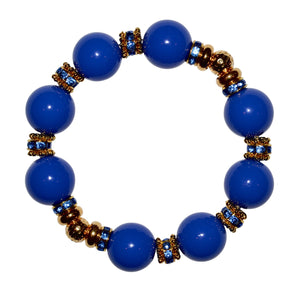 VIVIENNE BANGLE IN COBALT