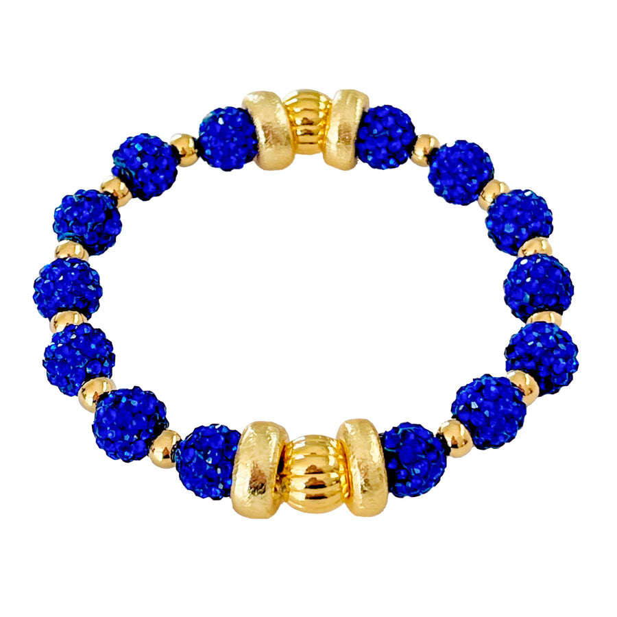SPARKLE BANGLE IN COBALT