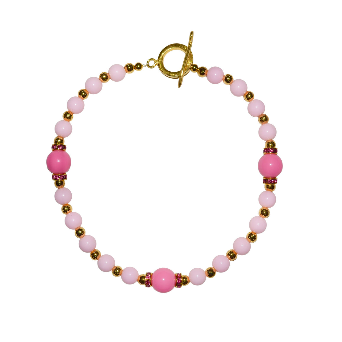 TATE HUDSON NECKLACE IN PINK