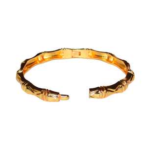 BAMBOO BANGLE IN GOLD