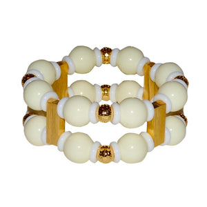 SAVANNAH CUFF IN IVORY
