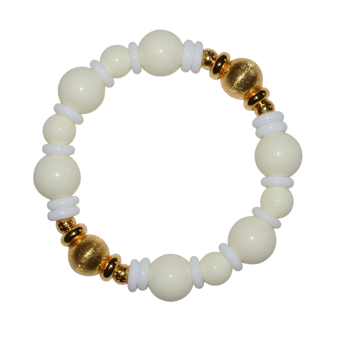 VIVIENNE BANGLE IN IVORY