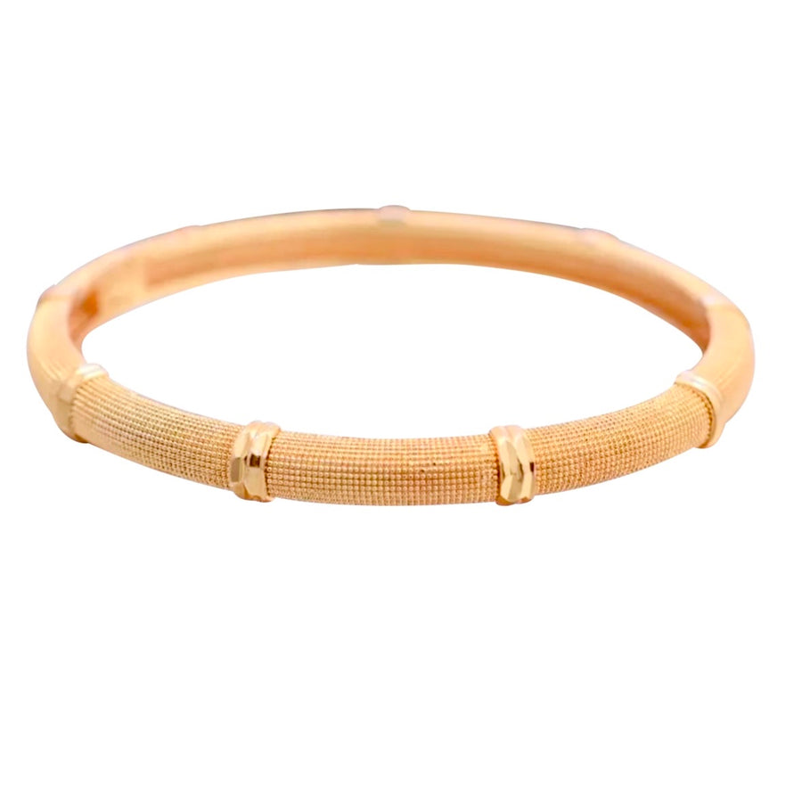 MESH BANGLE IN GOLD