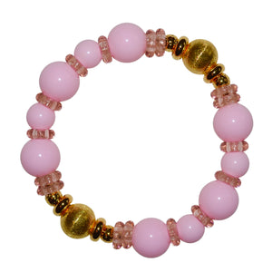 VIVIENNE BANGLE IN LIGHT PINK