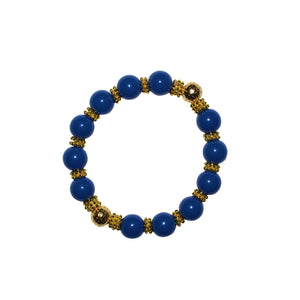 TATE HUDSON BANGLE IN DARK BLUE