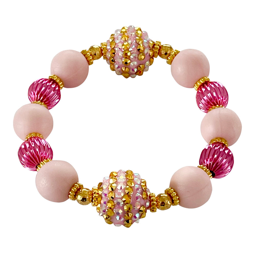 TEGGY BANGLE IN PALM BEACH PINK