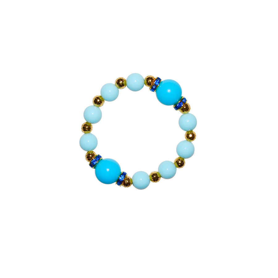 TATE HUDSON GUMBALL BRACELET IN LIGHT BLUE