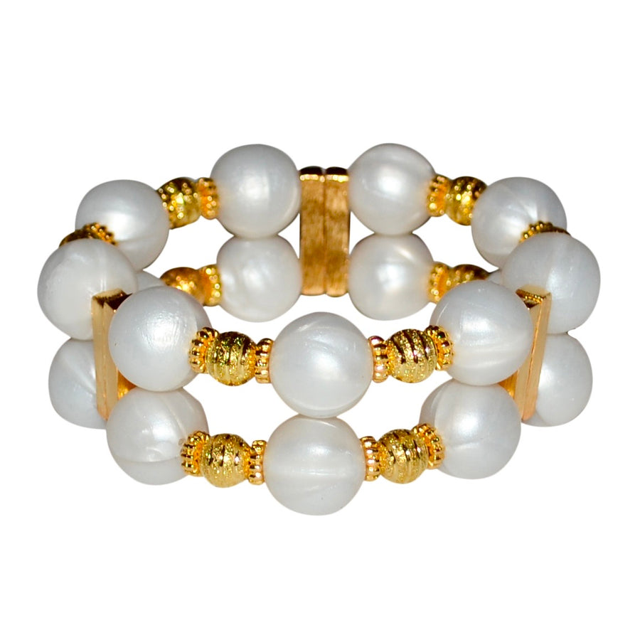 JAMIE CUFF IN IVORY PEARL