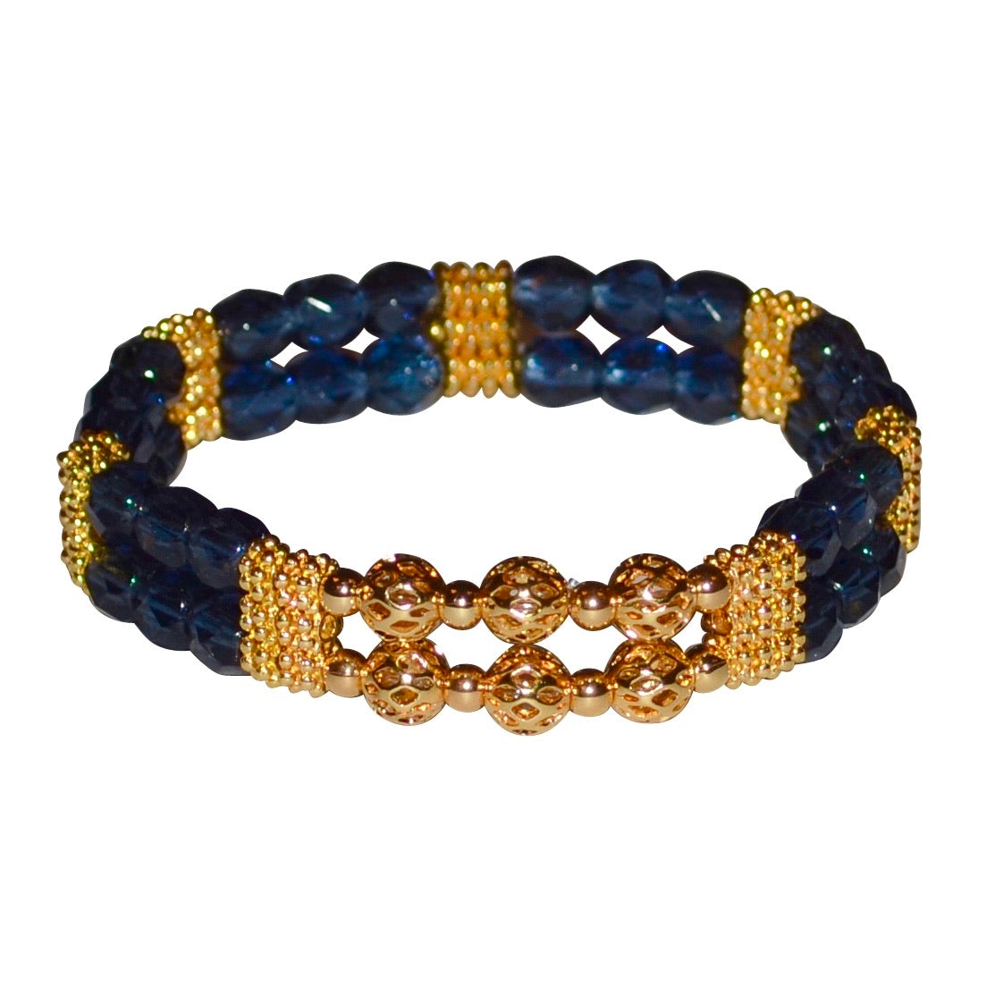 BIANCA BRACELET IN DARK BLUE