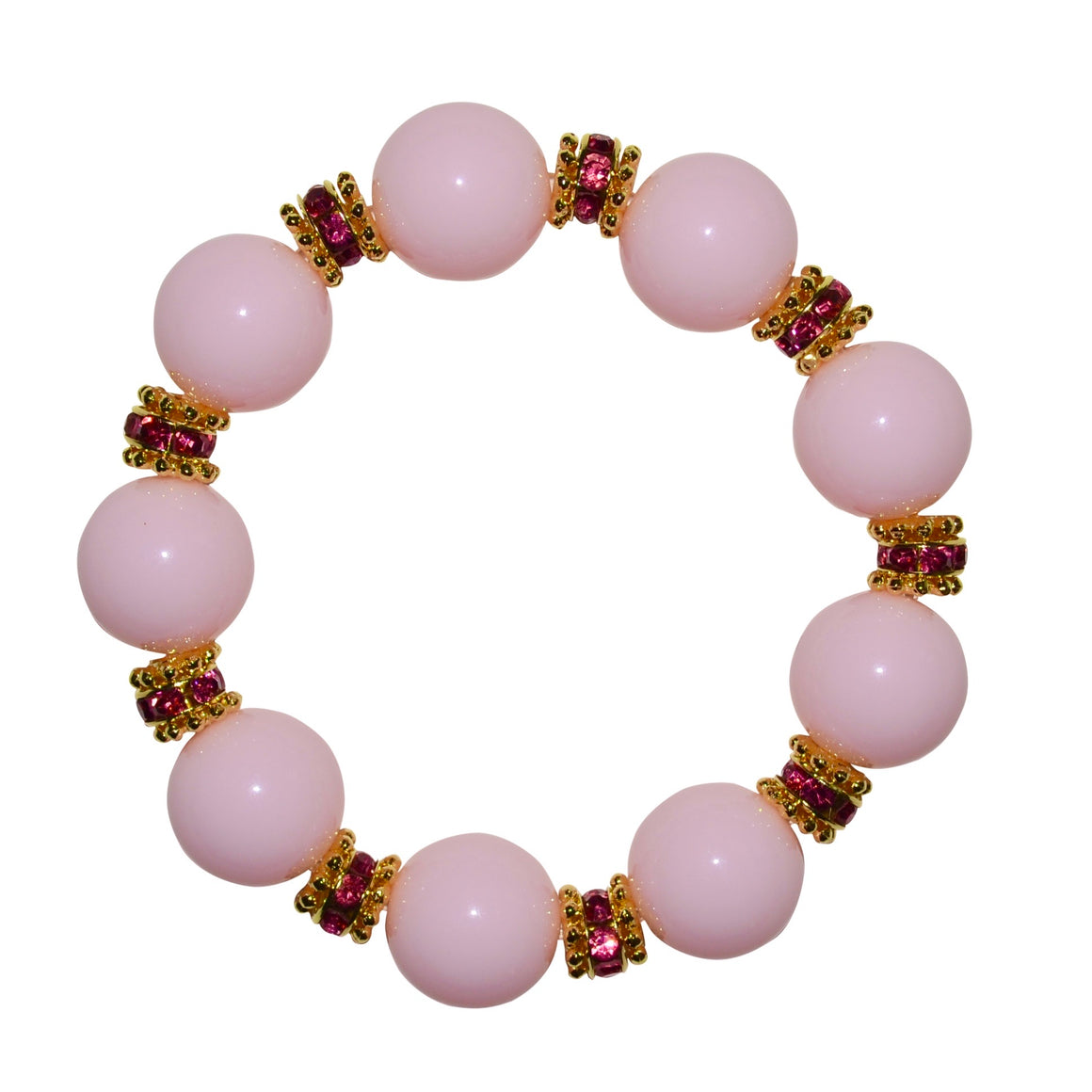 ELLIS ANYTIME BANGLE IN LIGHT PINK